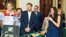 Meghan Markle got a fright during her trip to Melbourne — much to Prince Harry's amusement