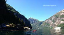 【挪威】蓋倫格峽灣:來划獨木舟吧!