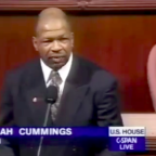 Elijah Cummings Always Knew Our Time Is Short. Just Look at His First Speech on the House Floor.