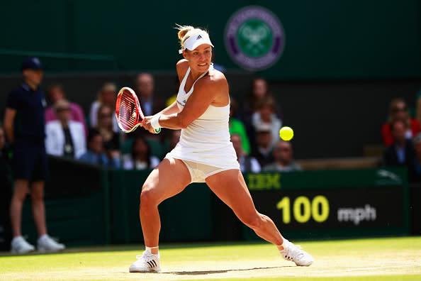 Angelique Kerber Vs Venus Williams Semi Final Wimbledon