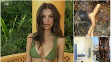 10 times Emily Ratajkowski bared (nearly) all in stunning vacation pics