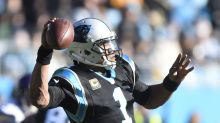 Cam Newton hits the deck on a minor hit: Flop or not?