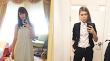 Trans woman shares gender expression journey, from 'femme to dapper'