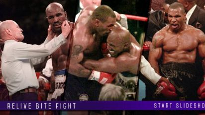 The Tyson-Holyfield Bite Fight, 20 years later: 'The ear ain't nothing but flesh'