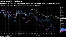 Asian Stocks Fall as U.S. Tech Sinks; Bonds Steady: Markets Wrap