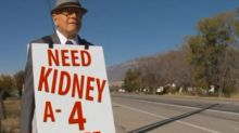 74-Year-Old Man Walks Miles Every Day to Find His Wife a Kidney