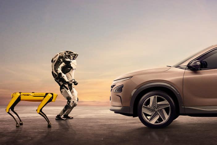 Hyundai now owns robot dog maker Boston Dynamics