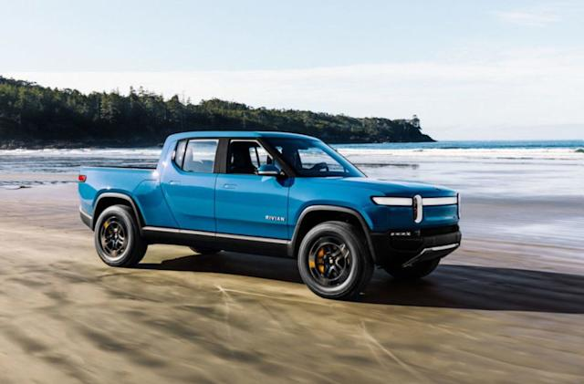 Rivian won't start delivering its EV pickups until 2021