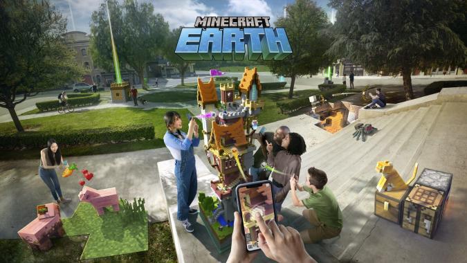 Minecraft Earth seasonal challenges