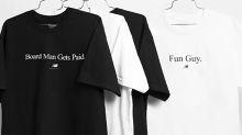 New Balance's $39 Kawhi Leonard Board Man Gets Paid shirt is already sold out