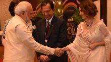 Fan Girl Kangana Ranaut Meets PM Narendra Modi