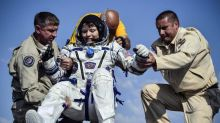 NASA astronauts return to Earth after stint at International Space Station