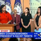 Minority congresswomen respond to President Trump's tweets