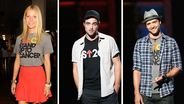 Video: Robert Pattinson Stands Up to Cancer With Gwyneth, JT, and More