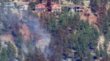 Wildfire that destroyed homes in Lake Country, B.C., believed human-caused: RCMP