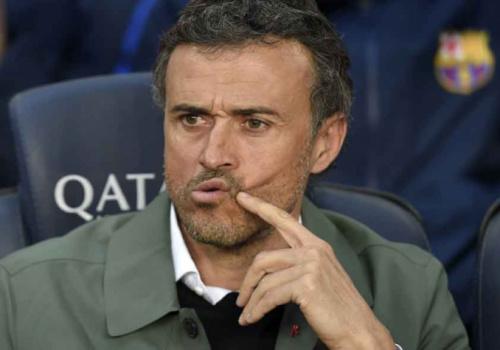 Luis Enrique repreendeu Neymar, Mascherano e Piqué após goleada