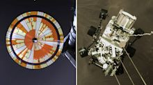 Secret message in Mars rover's parachute