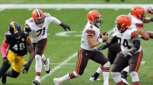 Kevin Stefanski: Baker Mayfield 'nowhere near as sore as he was last Monday'; will do more and start in Cincinnati