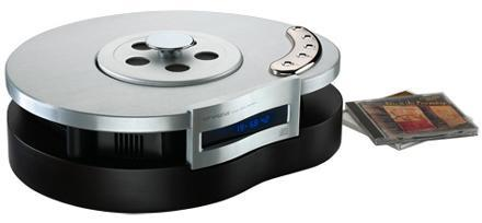 Consonance's Droplet CDP3.1: the kidney-shaped CD player