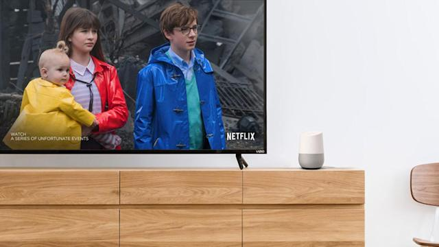 Vizio devices now take voice commands from Google Home