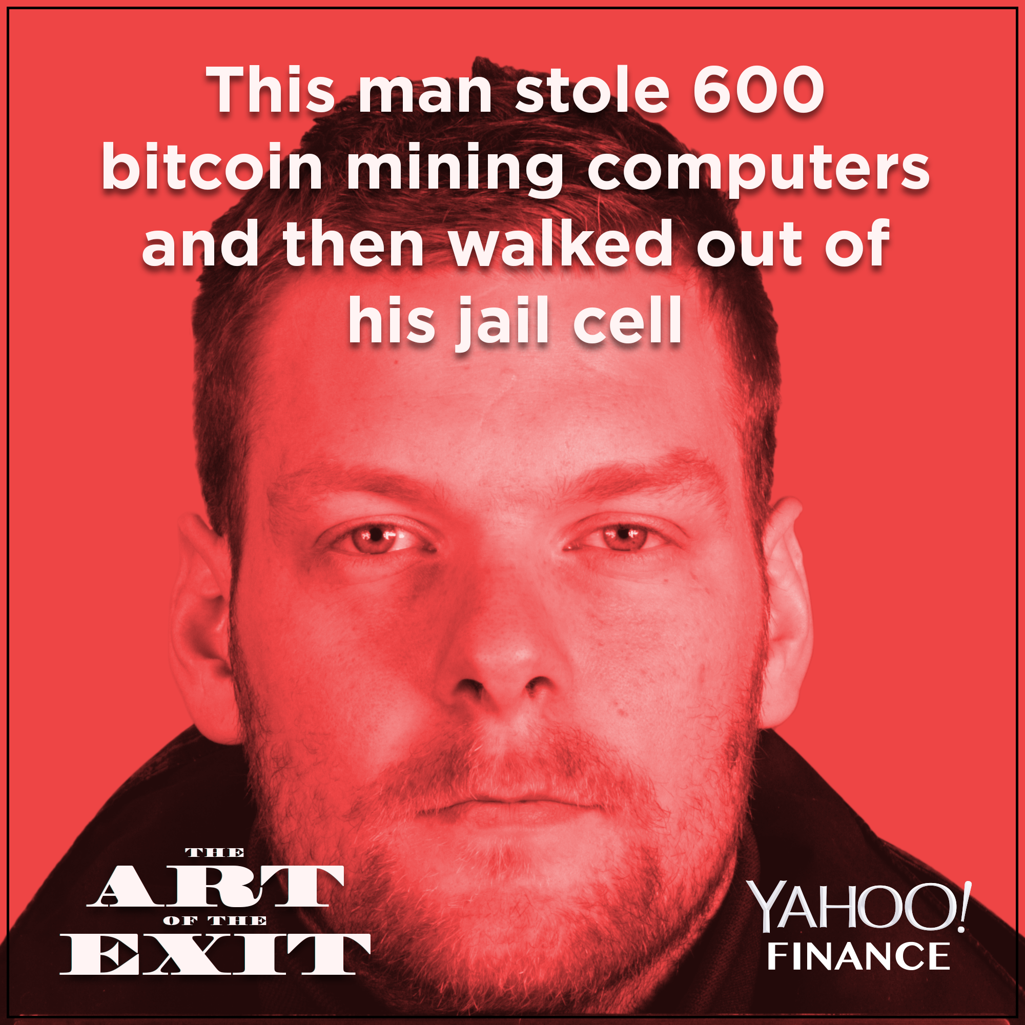 This man stole 600 bitcoin mining computers and then walked out of his jail cell