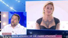 """Asia Argento contro Salvini: """"Lei alimenta odio, io una signora"""""""