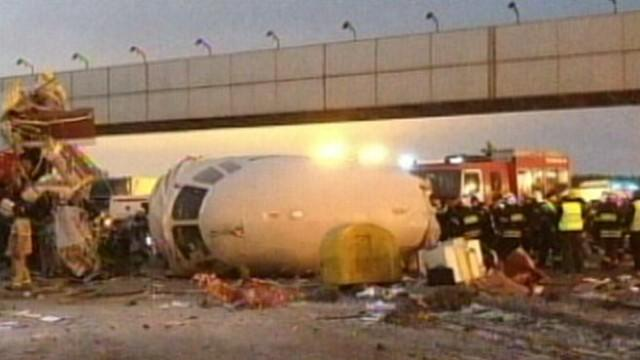 Moscow Plane Crash Caught on Tape