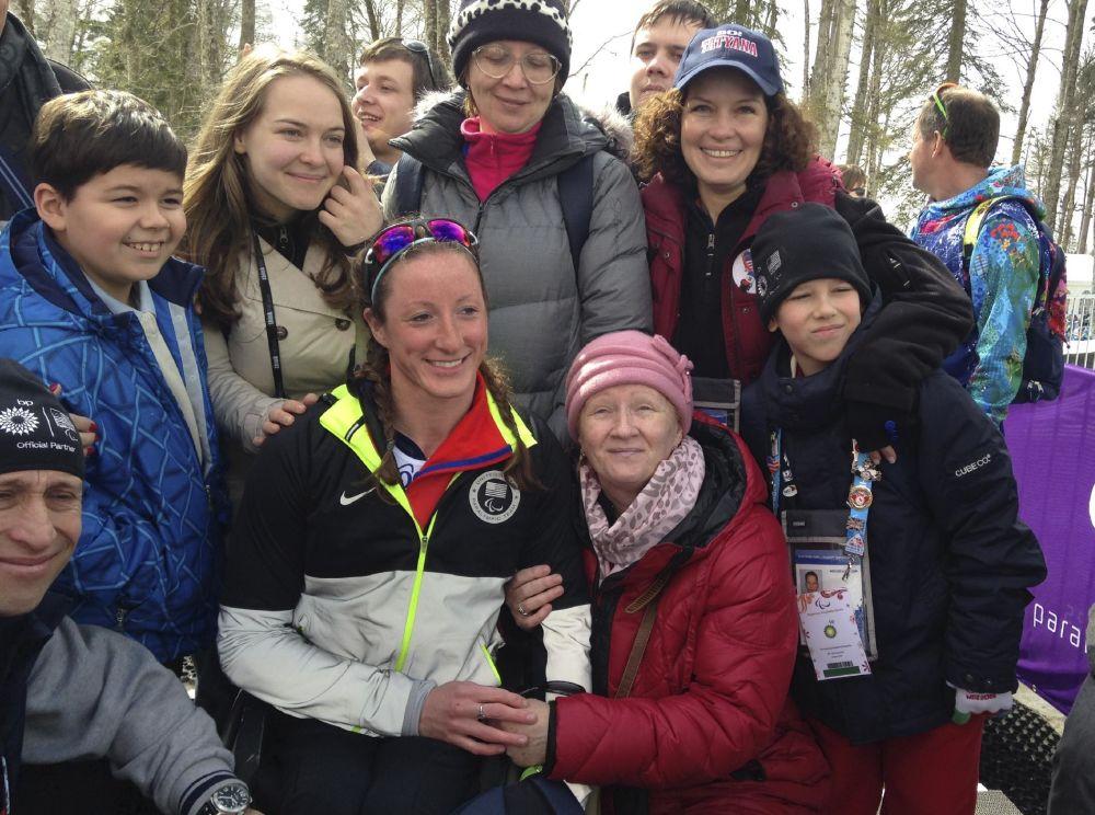 McFadden wins first Winter Paralympics medal