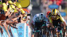 Reactions to Peter Sagan's Tour de France stage 11 shoulder barge: News Shorts