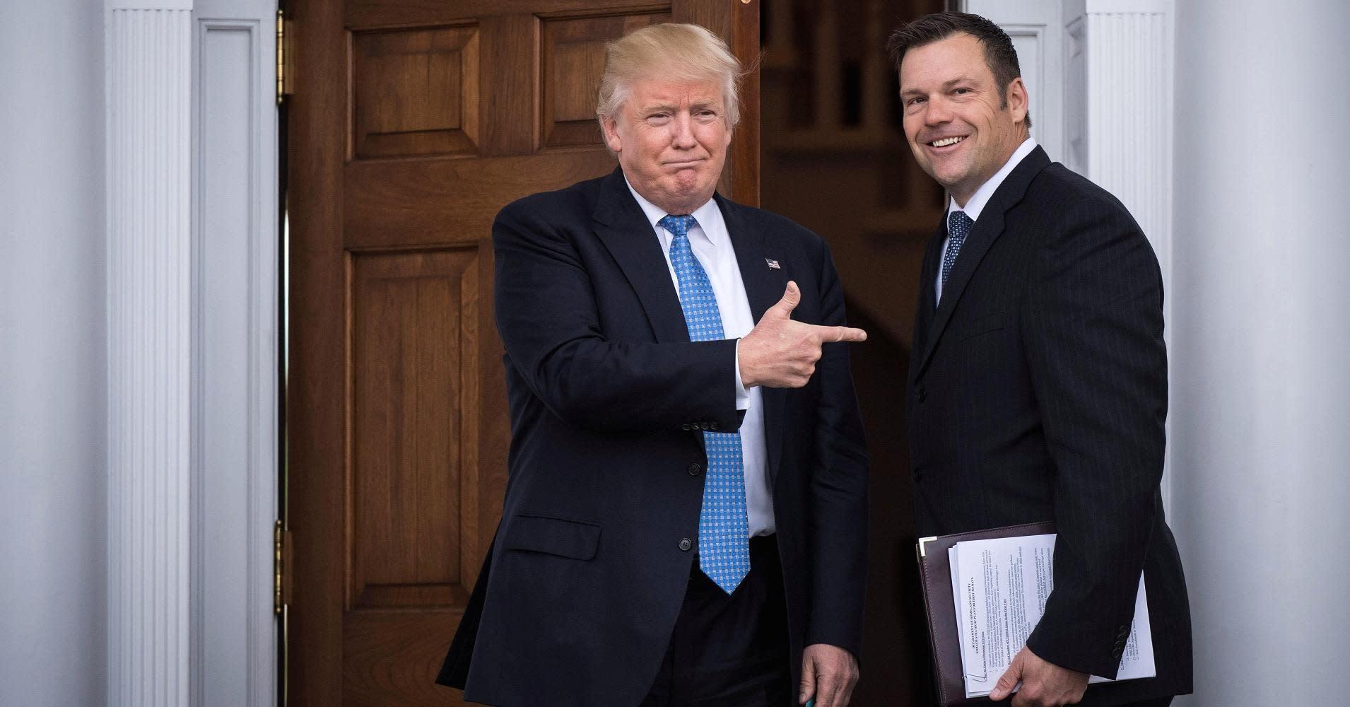 Trump advisor accidentally reveals hardline immigration plans to photographers
