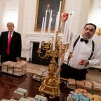 Trump's host on his India visit is a fervent vegetarian. The White House is apparently nervous about the menus.