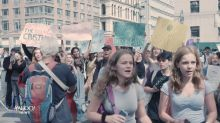 'We will continue to roar': Teens take to the streets in global climate protest
