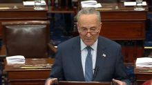 Senate tables Chuck Schumer's first impeachment amendment along party lines
