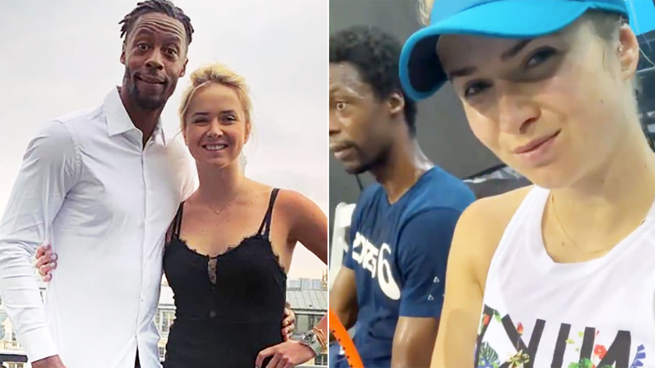 'We love each other': Tennis star spills on relationship with fellow player