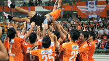 Albirex win maiden S.League title, eye domestic clean sweep