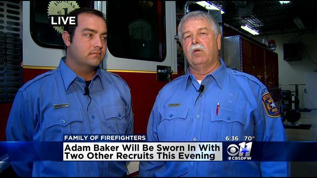 Father & Son Make Mesquite Fire Department History