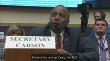 Ben Carson confuses real estate acronym with Oreo cookies