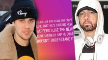 Justin Bieber Says Eminem 'Doesn't Understand' New Rap Artists