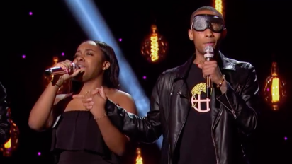 'American Idol' contestants wear goggles in show of solidarity for blind contestant
