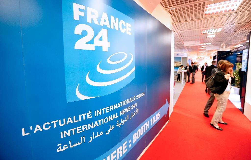 France 24 broadcasts in English on Russian satellite packages