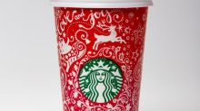 Starbucks' hot new red holiday cups include two Canadian designs