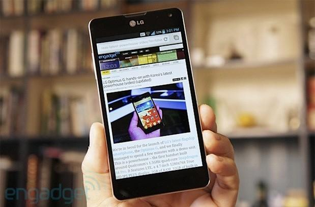 Optimus G will be LG's first smartphone to pack LTE TDD