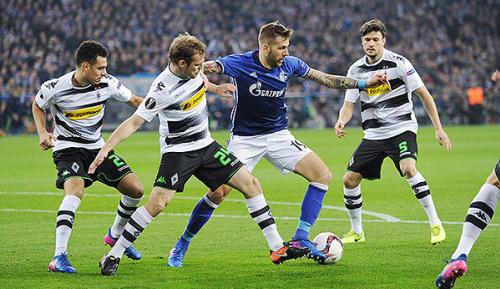 Europa League: Highlights: Glückliche Schalker kicken Gladbach raus