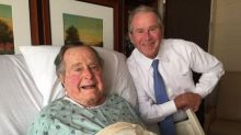 Former President George HW Bush released from hospital after treatment for pneumonia