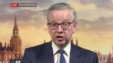 Coronavirus: Customers 'should not try clothes on' when shops reopen, says Gove
