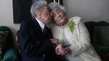 'World's oldest married couple' have lived a combined 215 years and are still in good health