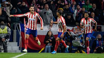 Morata's late winner rescues Atleti in UCL