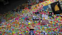 Mooncakes, hymns and post-it notes: the colour of Hong Kong's protests