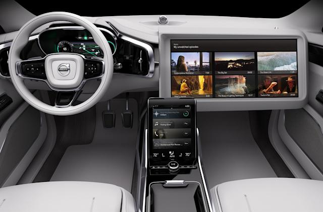 Volvo is making a media streaming system for autonomous cars