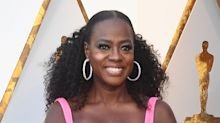 Viola Davis Was A Sparkly Pink Vision At The Oscars